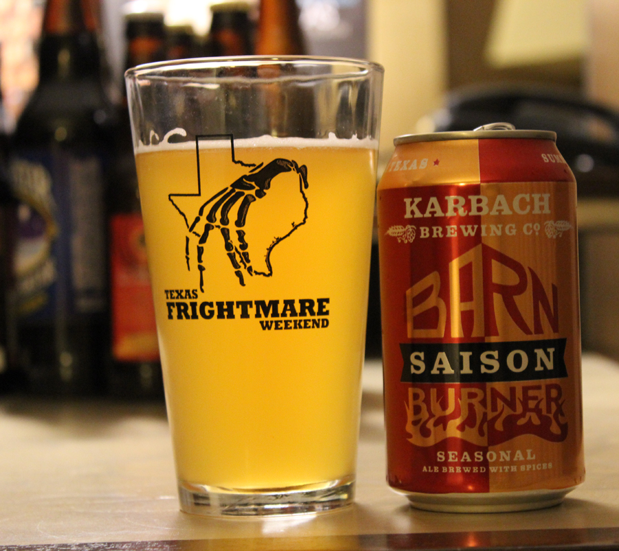 Review: Karbach Brewing Company Barn Burner Saison