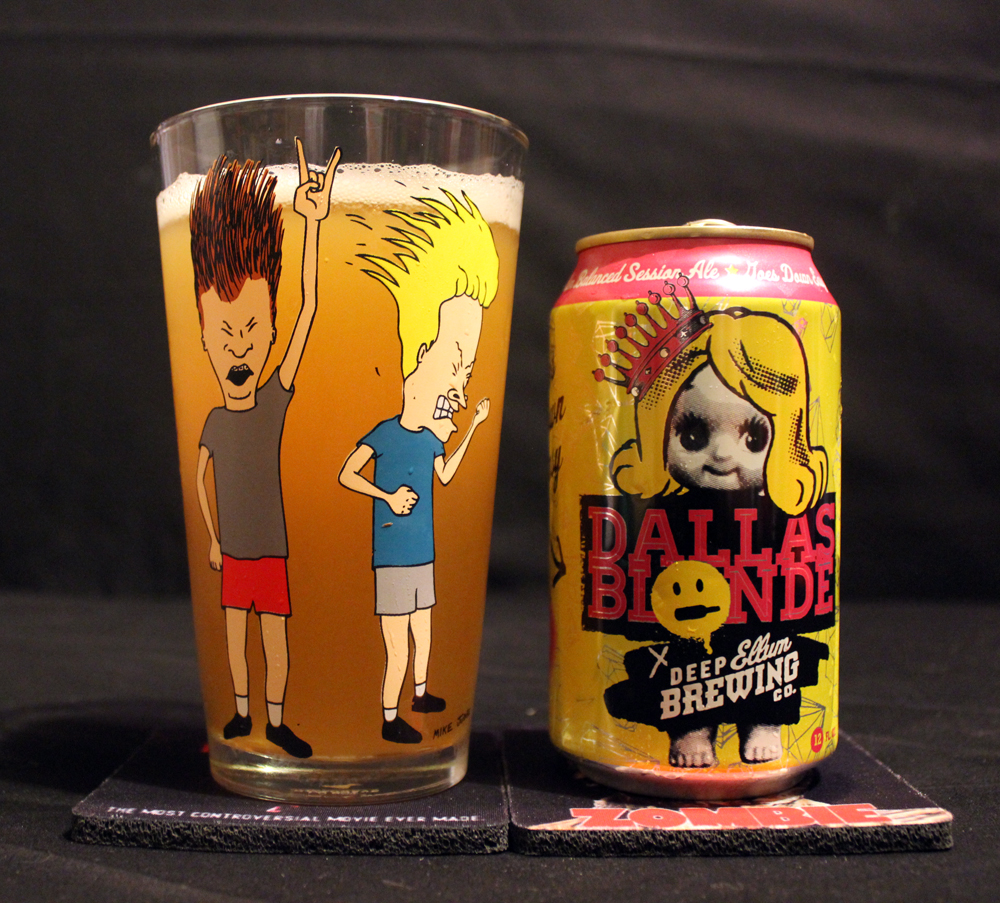 Review Deep Ellum Brewing Company Dallas Blonde