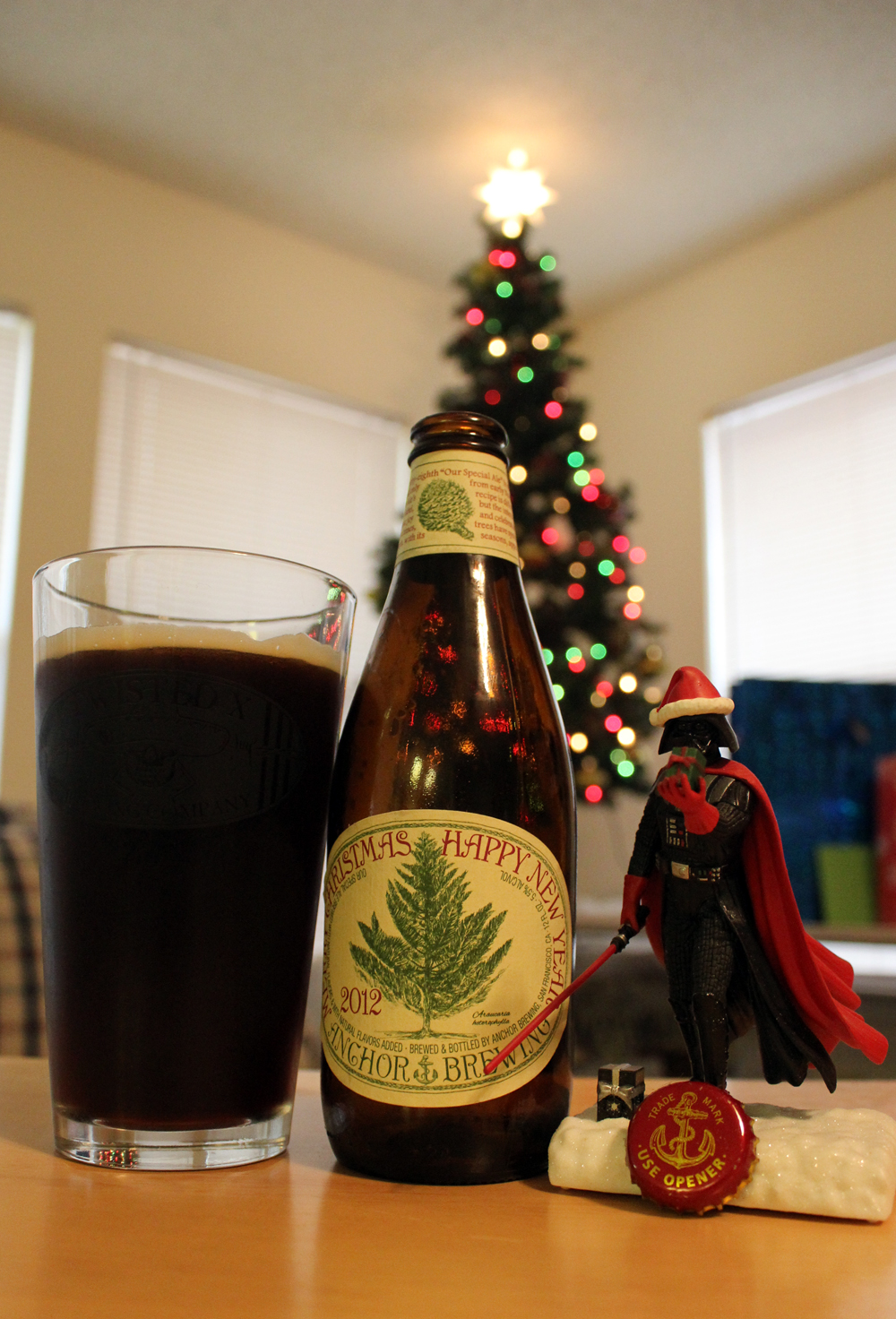 beer merry christmas happy new year our special ale 2012 style winter warmer abv 5 5 character since 1975 this beer gets a different recipe and