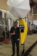 Josh Huskins and his world famous Banana Stand photo booth! www.bananastandbooth.com