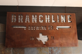 ...another sign, inside the tap room!