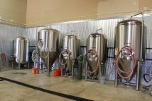 Inside the brewery!