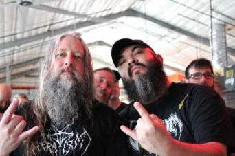 Todd Haug (Surly Brewing/Vulgaari) and I