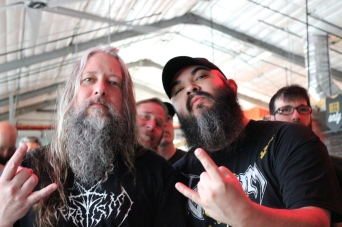 Todd Haug (Surly Brewing/Vulgaari) and I