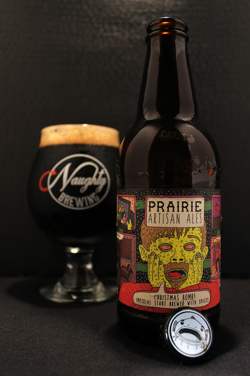 Christmas Bomb Beer.Beer Review Prairie Artisan Ales Christmas Bomb