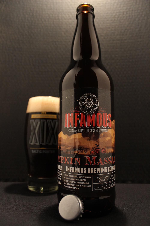 Beer Review Infamous Brewing Company Pumpkin Massacre